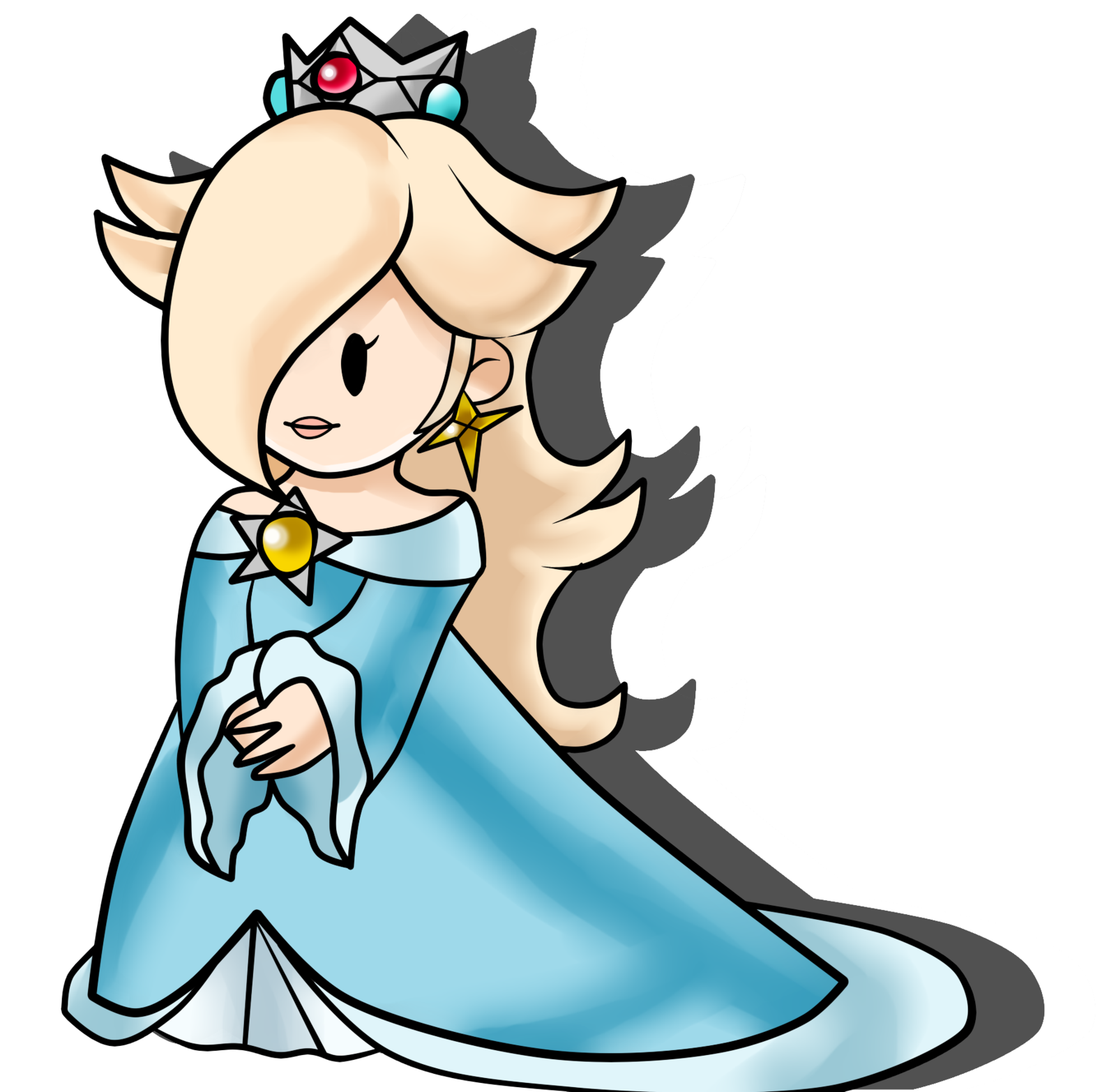 Rosalina drawing epic. Paper by crystaliszelda on