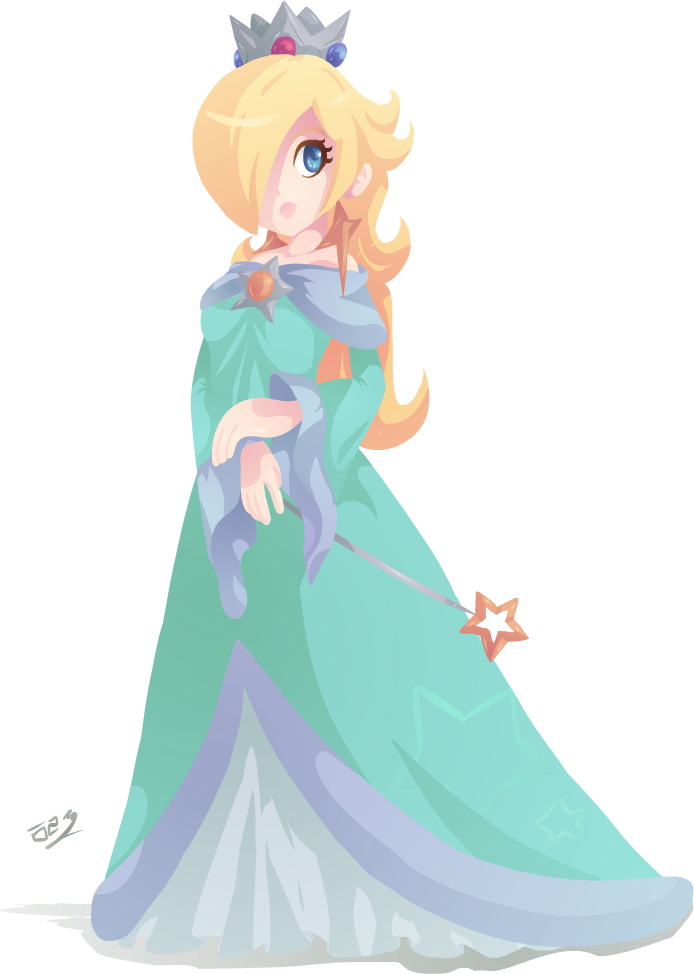 Rosalina drawing love. More space mom by