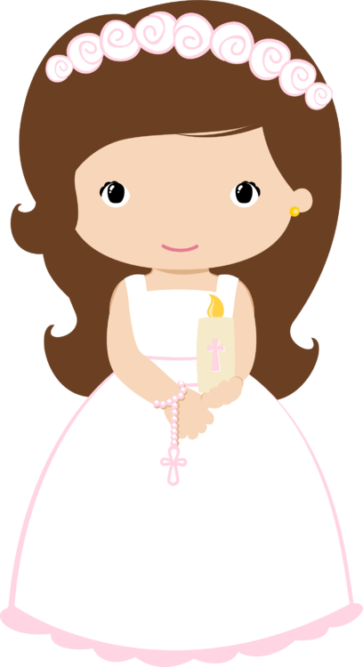 First communion girl png. Rosary clipart at getdrawings