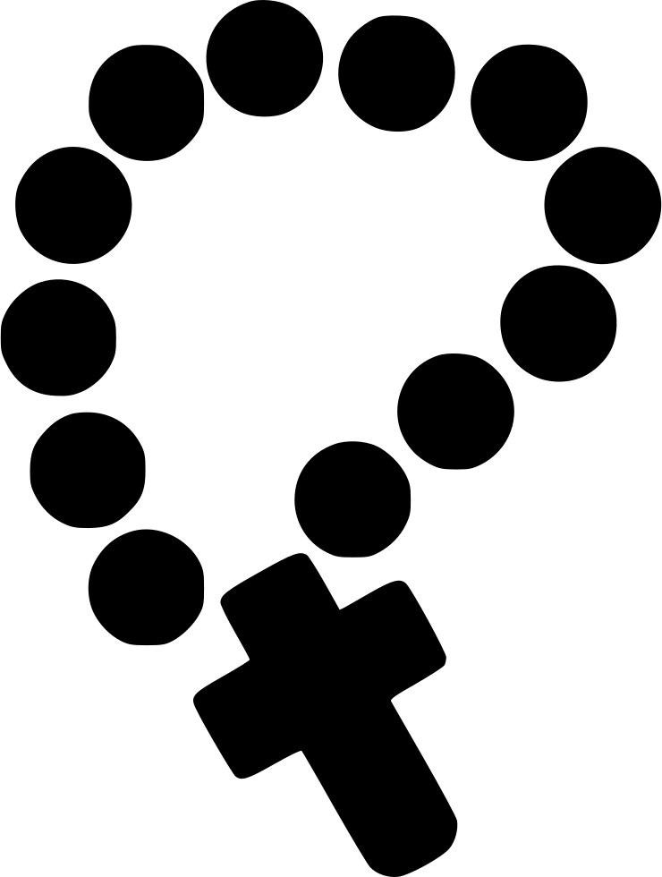 rosary clipart png