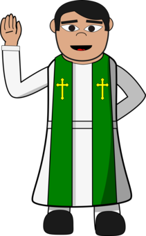 Pope francis the joy. Rosary clipart priest picture library stock