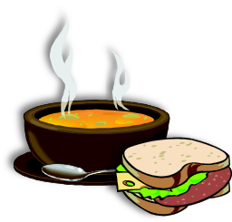 Rosary clipart soup. Holy and sandwiches greystones