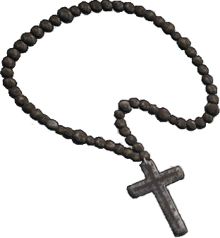 Rosary transparent beads. Image png wick wikia