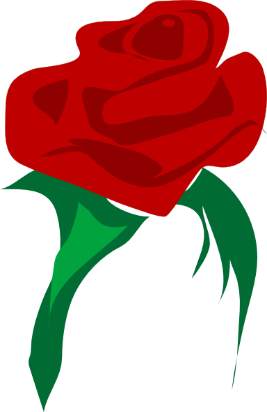 Red flower clip art. Rosas vector rose picture freeuse