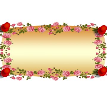 Red rose border png. Roses background banner enthusiasm