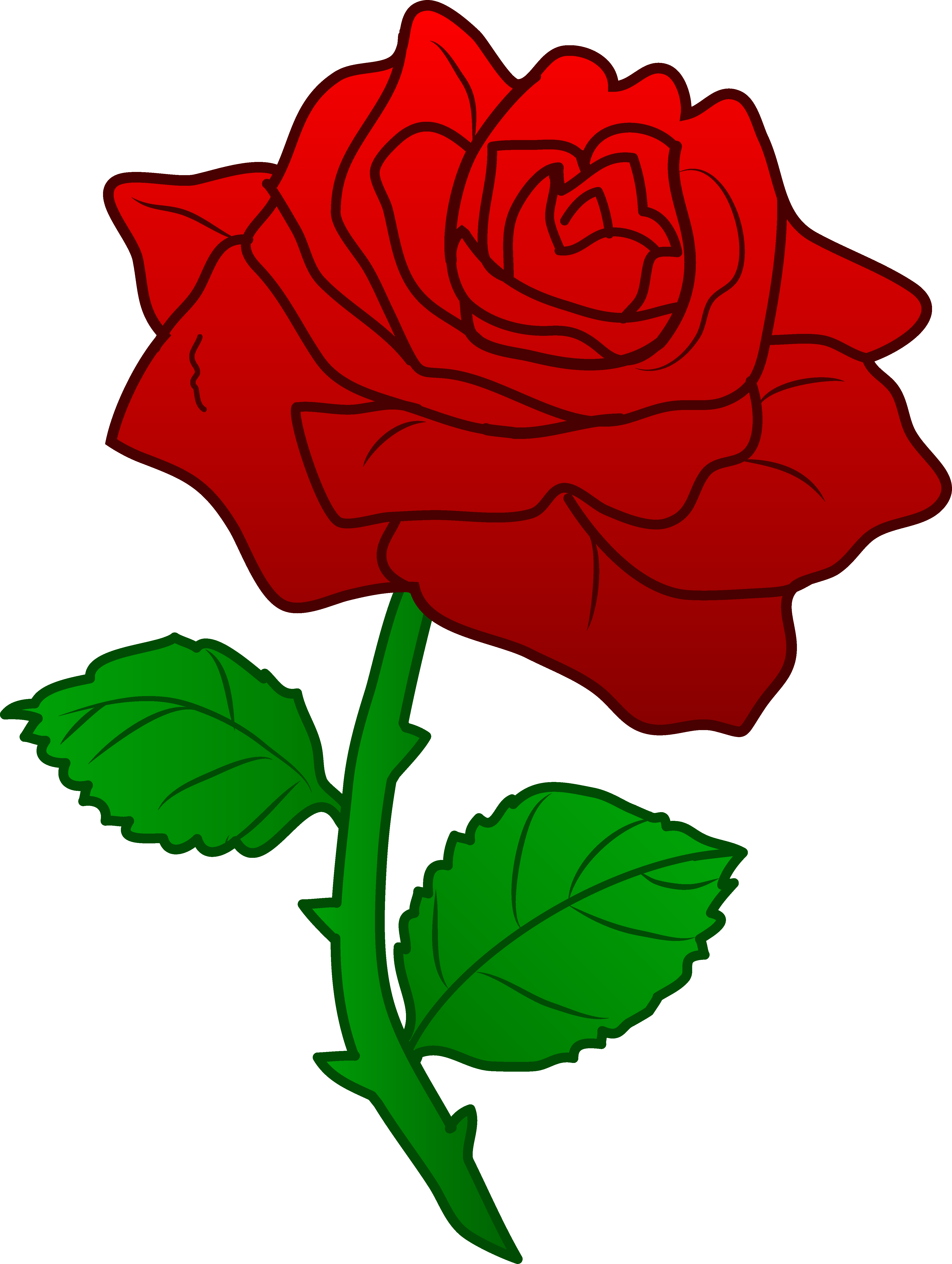 3 clipart rose clip art free library