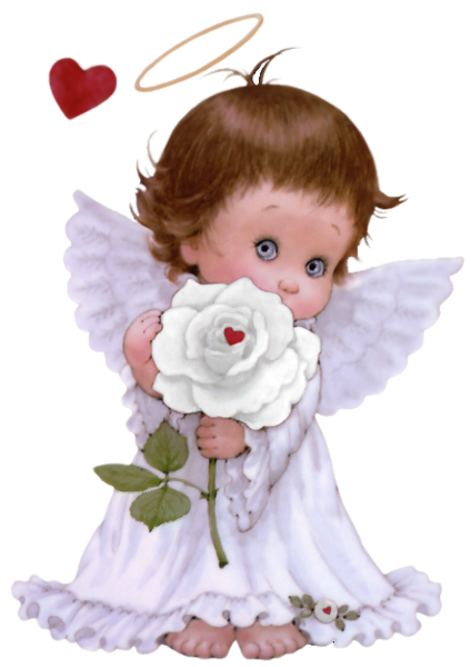 Rose clipart baby. Angel with clip art