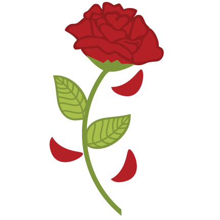 Rose clipart beauty and the beast. Png x