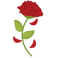 Rose clipart beauty and the beast. At getdrawings com free