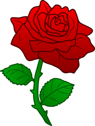 Rose clipart cartoon. Roses group png clipartix
