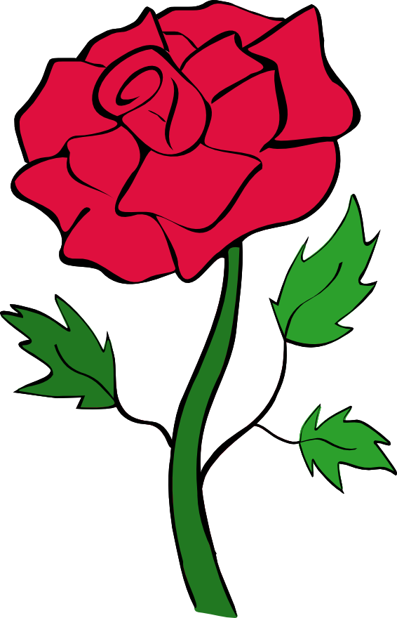 Sympathy clipart red rose. Top roses clip art