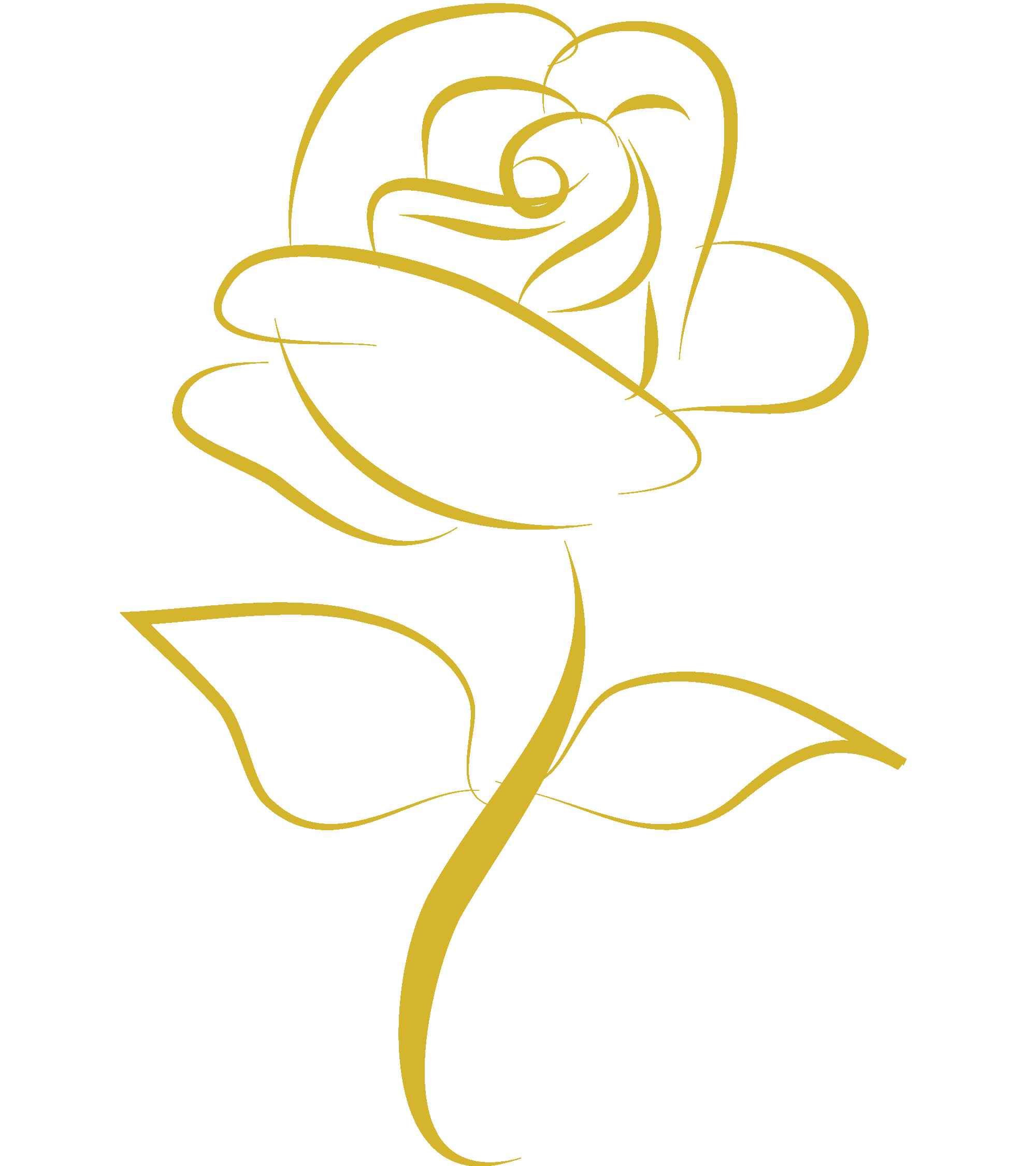 Gold rose png. Transparent pictures free icons