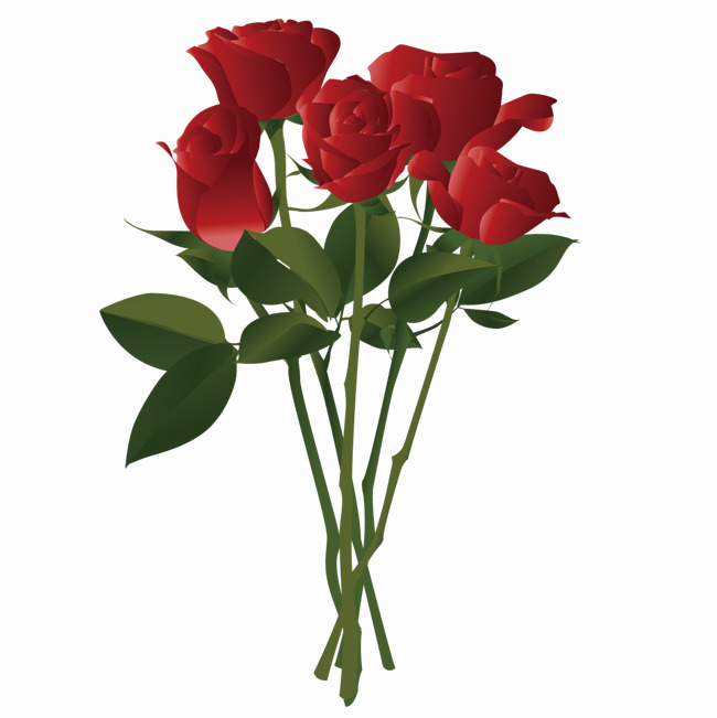 Rose flowers png. Bouquet of pic arts