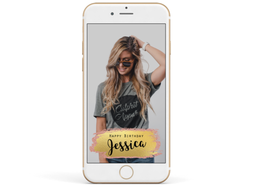 Rose gold banner png. Glitter snapify