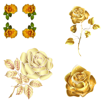 Metallic vector rose gold. Png images vectors and