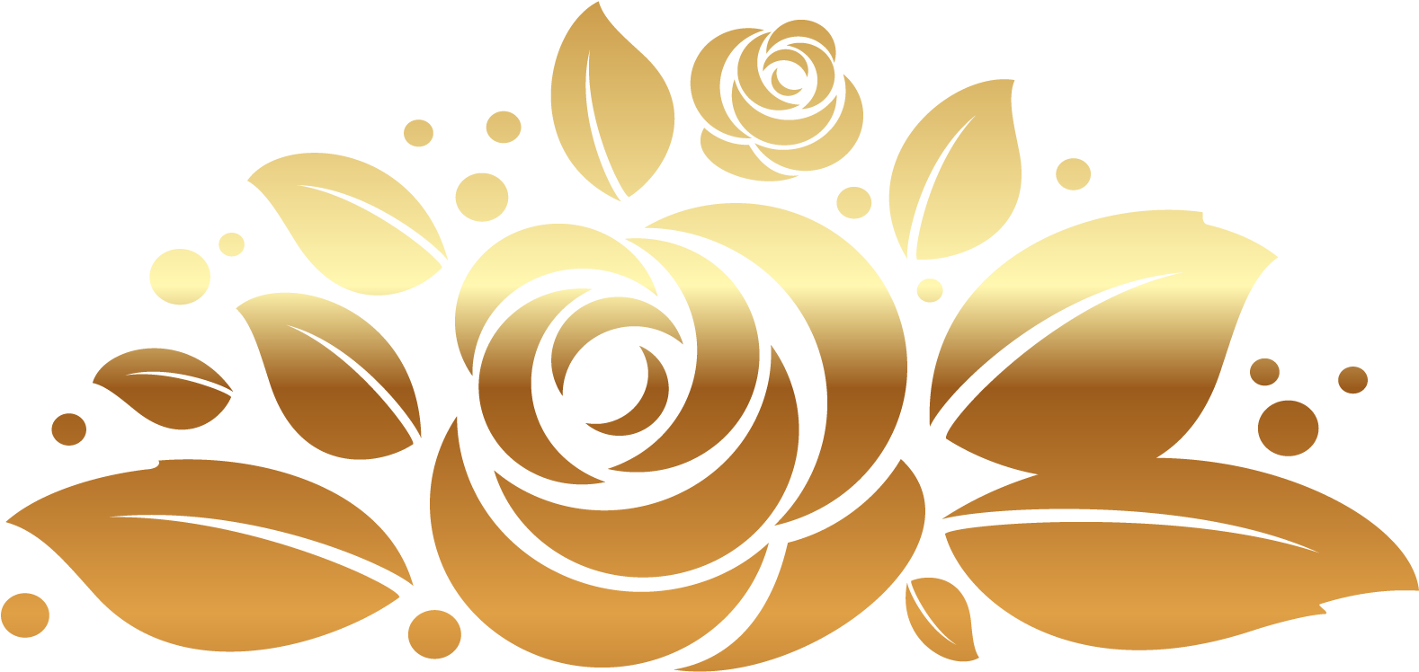 Rose gold flower png. Download image freeuse decor