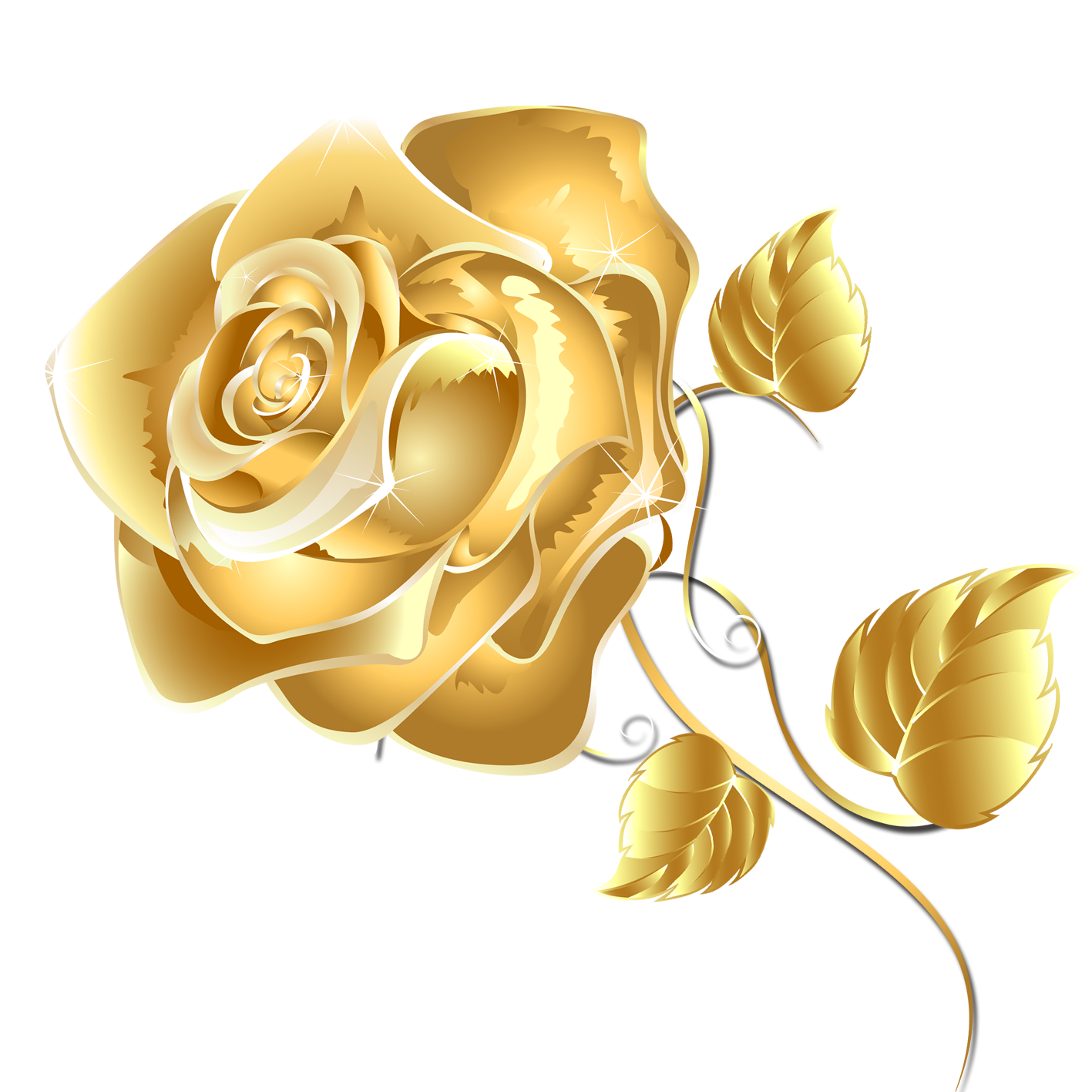 Rose gold flower png. Fashion free games online