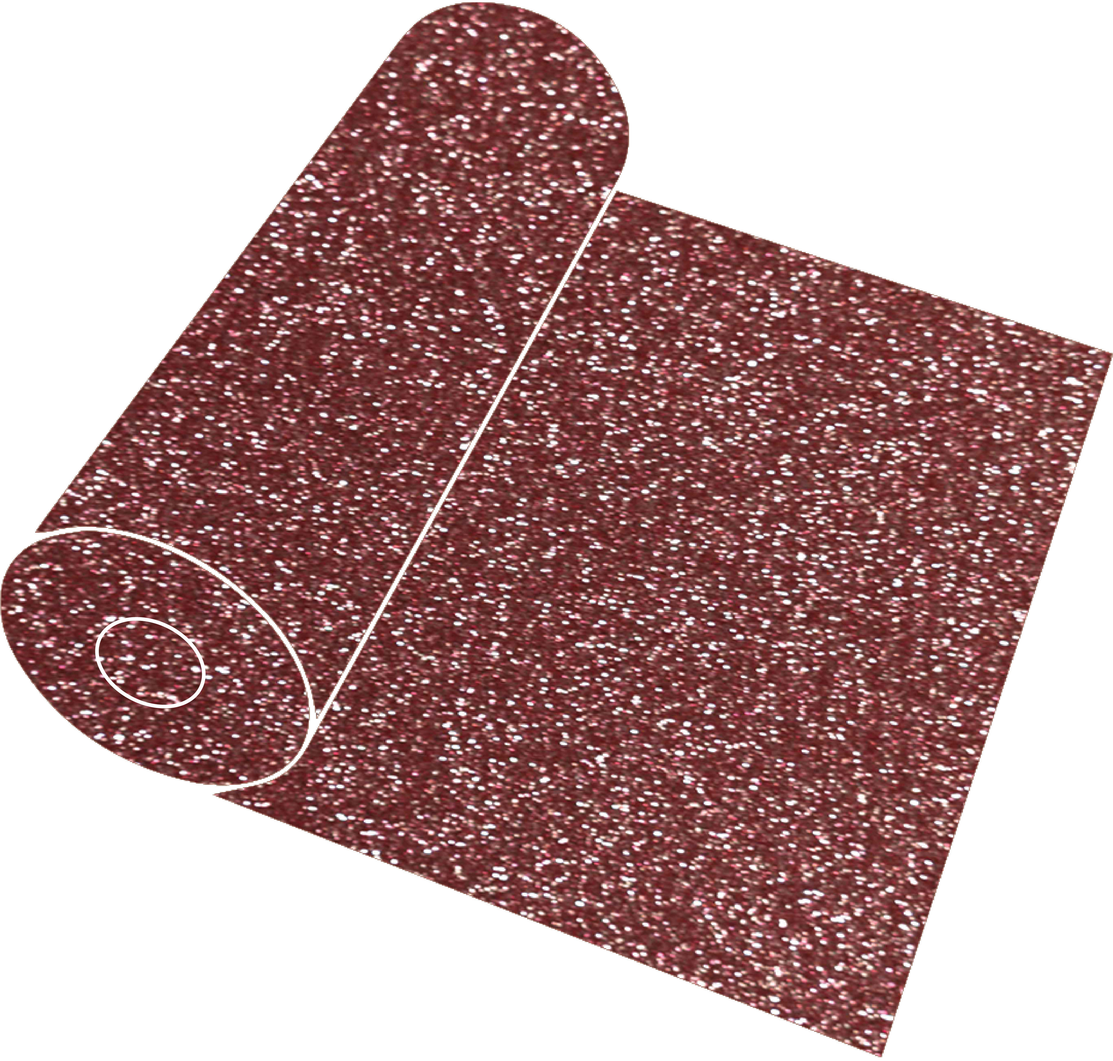 Rose gold glitter png. Roll southeastern craft