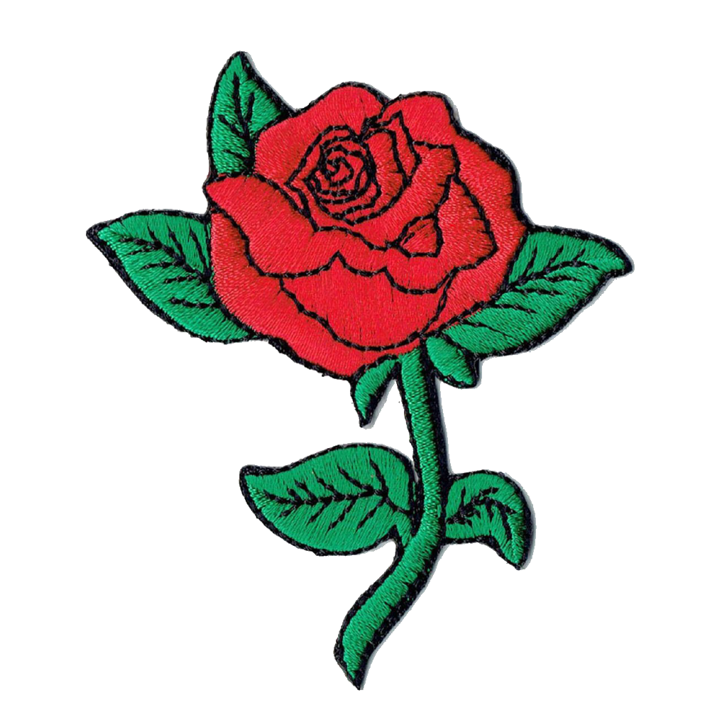 Roses png tumblr. Red rose stickers stick