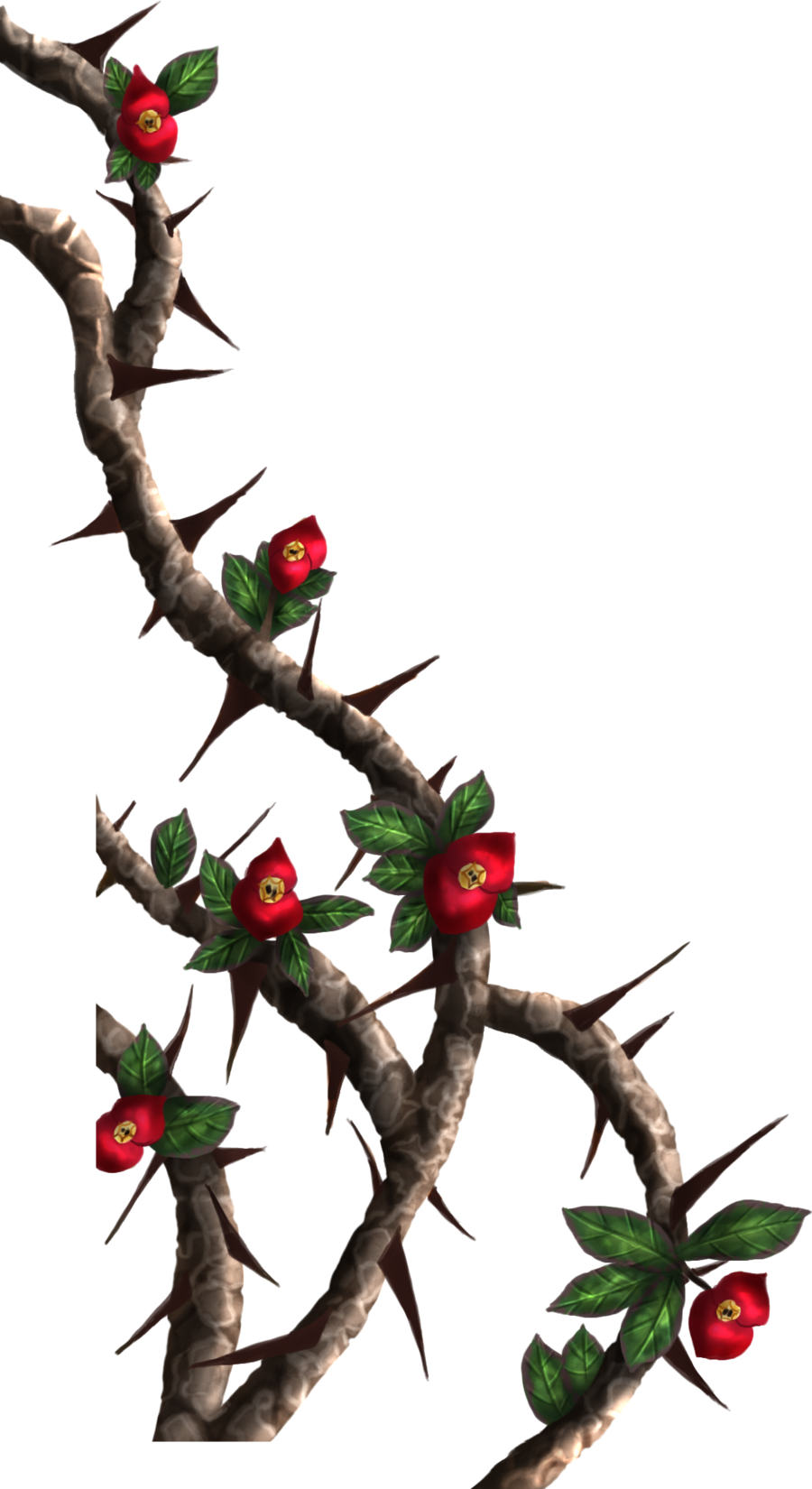 Rose thorns border png. Collection of thorn
