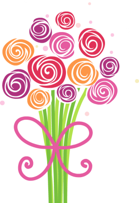 Bouquet vector bunch flower. Free bunches cliparts download