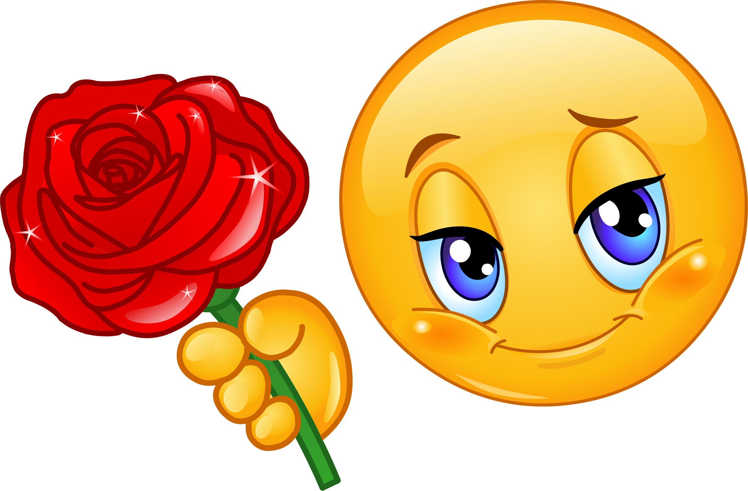 Roses clipart emoji. Rose decal hotsigns and