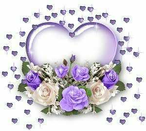 Roses clipart glitter. Graphic hearts flowers purple