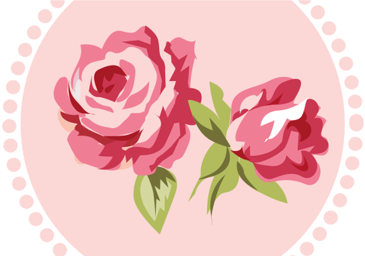 Roses clipart shabby chic. Download pink rose pencil