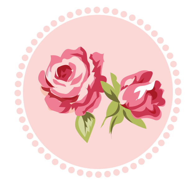 Rosas vectores png. Shabby chic pink gray