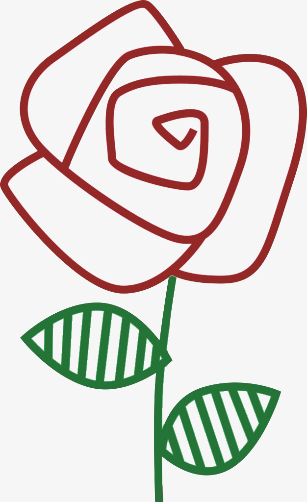 Roses clipart stick. Red rose figure png