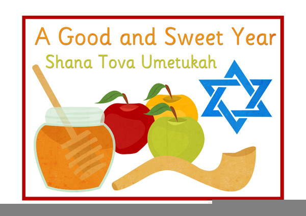 Greetings free images at. Rosh hashanah clipart png black and white
