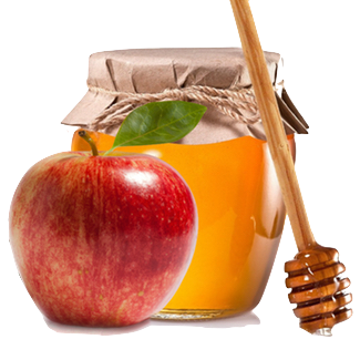 Rosh hashanah clipart apple honey. Erev dinner iu hillel