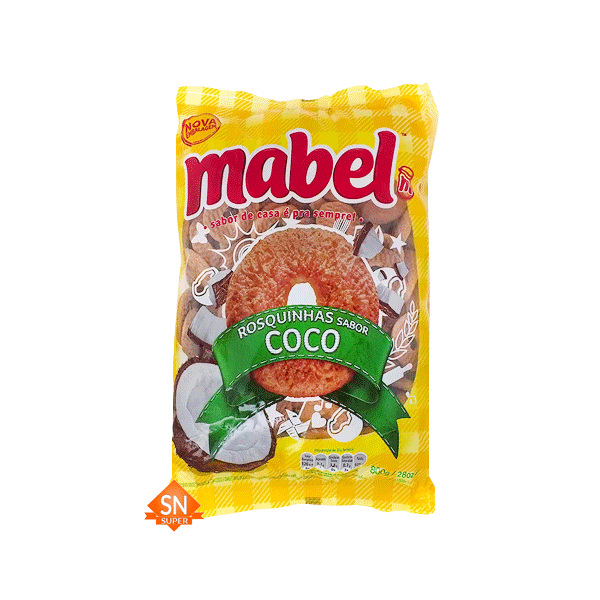 Rosquinha de coco png. Biscoito mabel g