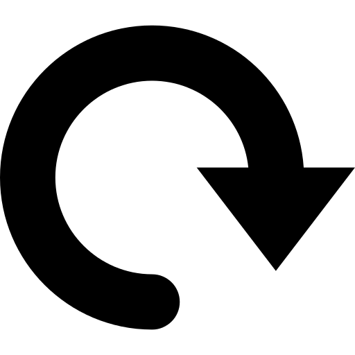 Rotating arrow png. To the right icon