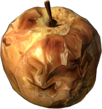 Rotten apple png. Dayz wiki baked