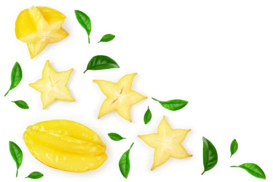 Rotten carambola. Star fruit photos by