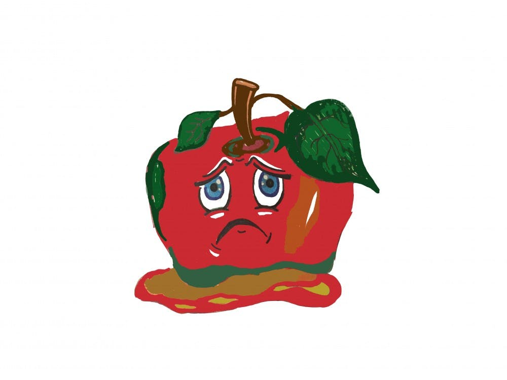 Rotten strawberry. What s about tomatoes