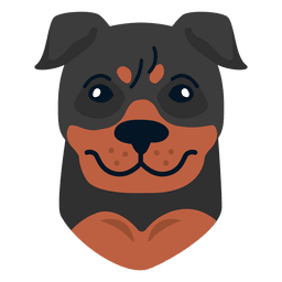 Rottweiler vector. Dog playing transparent png