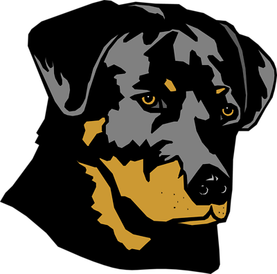 Free cliparts download clip. Rottweiler vector freeuse library
