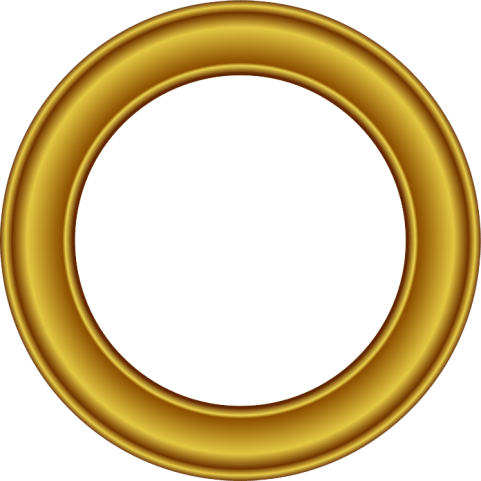 Round frame png. Golden free images toppng