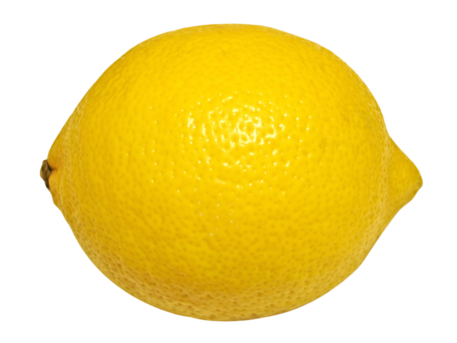 Round lemon. Png sector transparent image