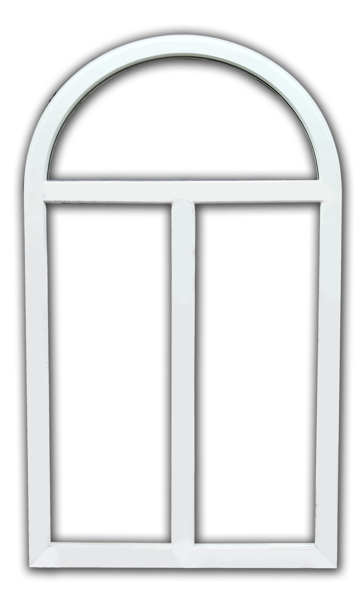 Round windows png. Arched window frame transparent