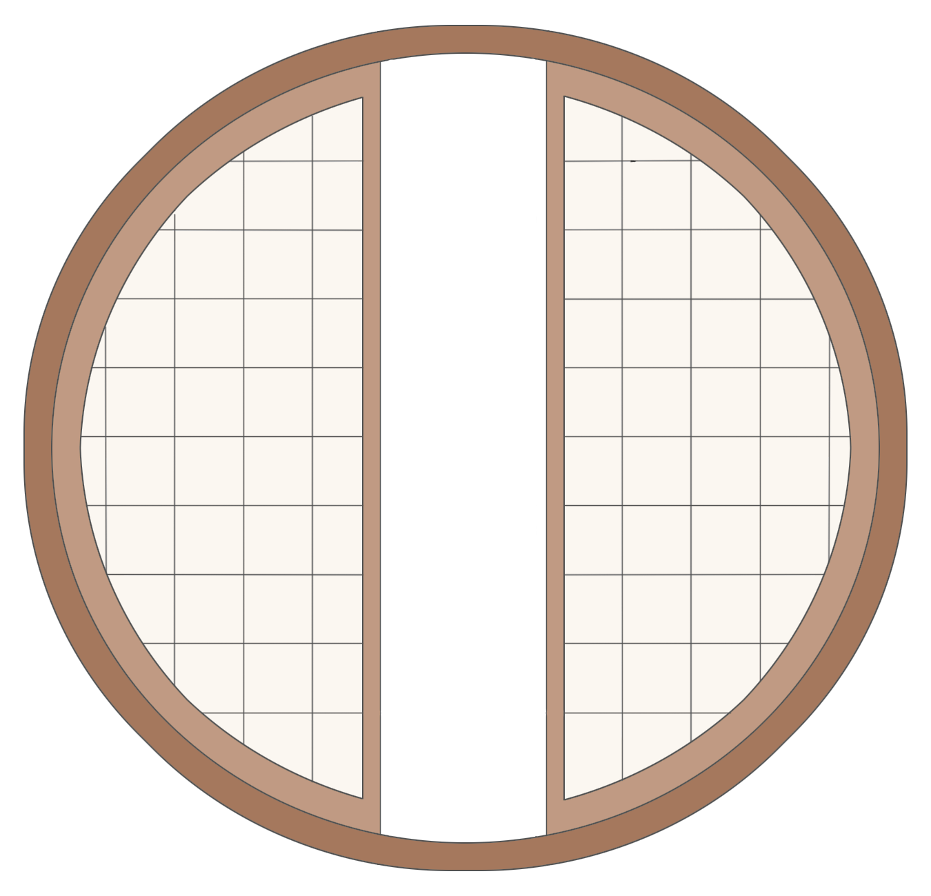 Round windows png. Window stock by kit