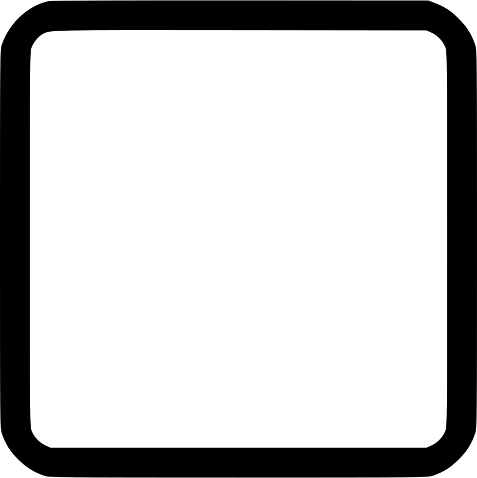 Rounded rectangle png. Tool shape square stroke