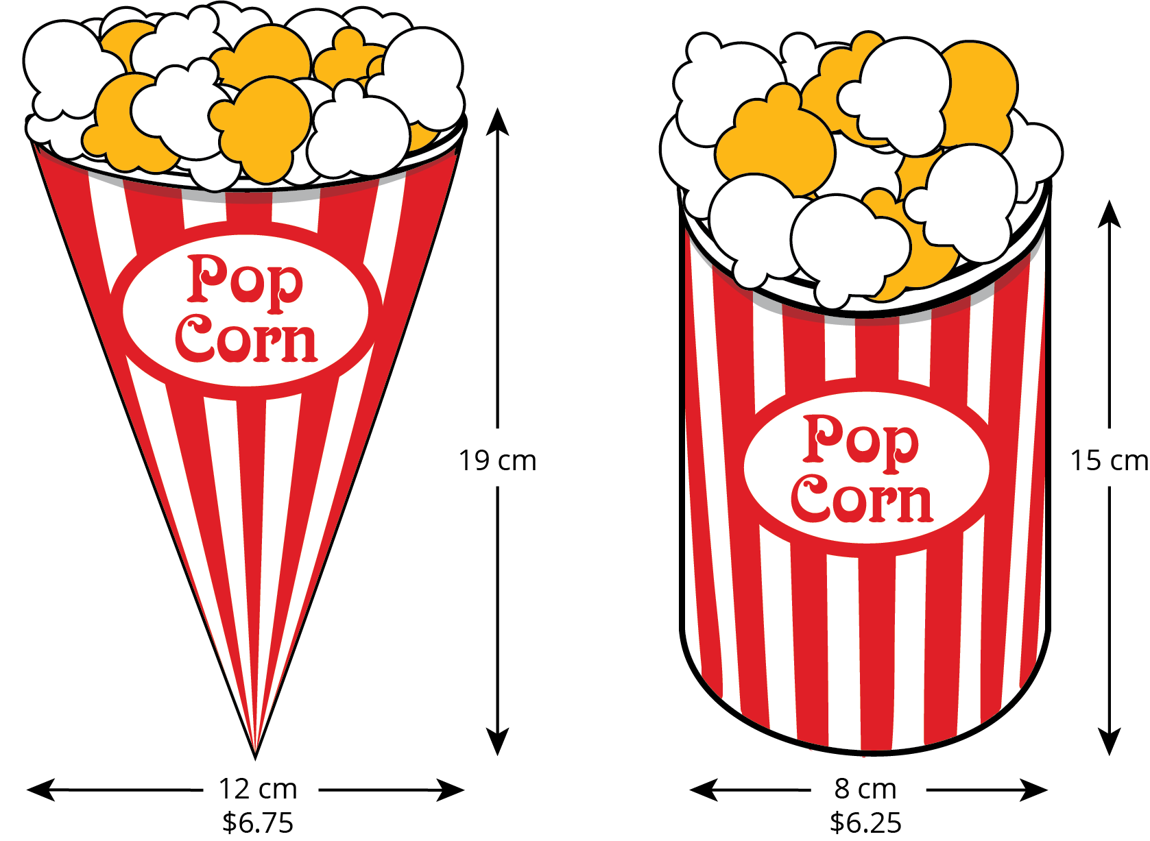 Row clipart and popcorn. Grade unit open up