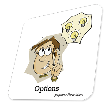 Row clipart and popcorn. Popcornflow stickers who else