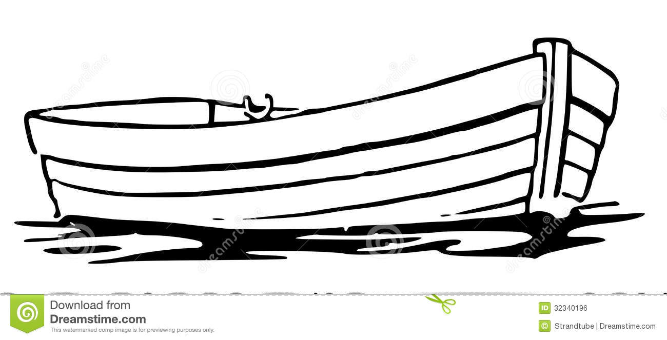 Boat silhouette at getdrawings. Row clipart boating graphic black and white download