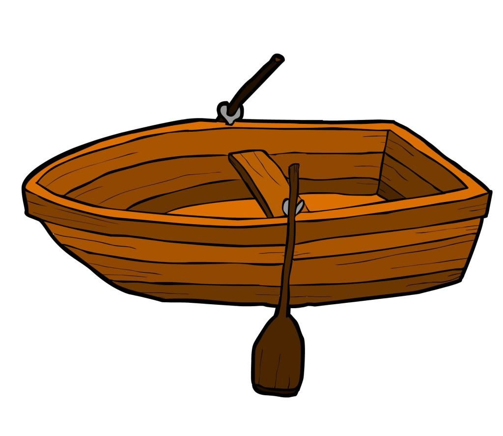 Boat silhouette of typegoodies. Row clipart boating png