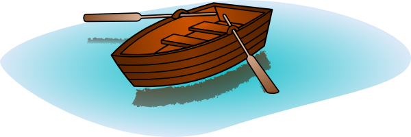 Boat clip art with. Row clipart boating picture free stock