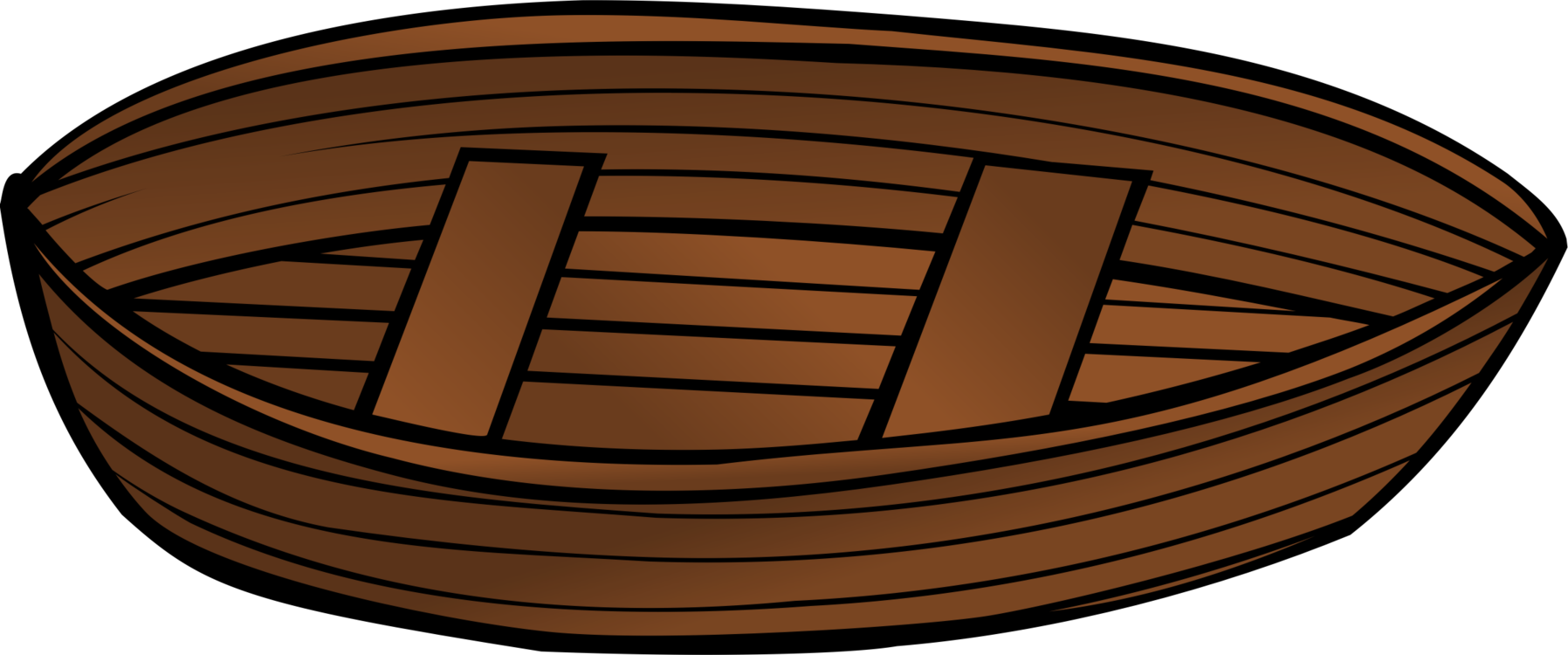 Sailboat clipart brown. Rowing boat oar canoe
